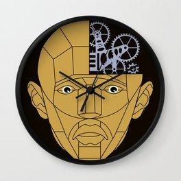 Man's face Wall Clock