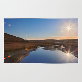 Twin Suns of Point Reyes Rug