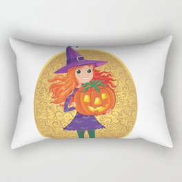 Teenage Witch Rectangular Pillow