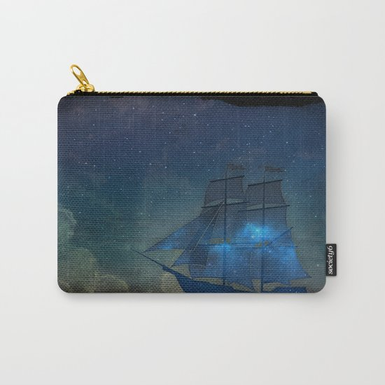 Ships and Stars Carry-All Pouch