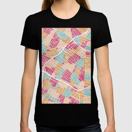 Los Angeles map T-shirt