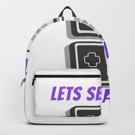 gaming for gamers and console lovers  Backpack