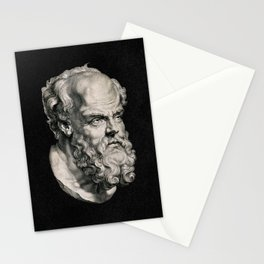 Socrates, 1638 Stationery Cards