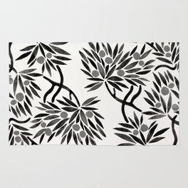 Bonsai Fruit Tree – Black Palette Rug