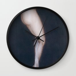 Louis Icart - Hunting - The Illusion Of Tobacco - Digital Remastered Edition Wall Clock