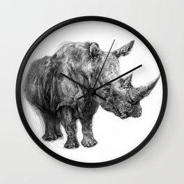 a Rhino called BigButy Wall Clock