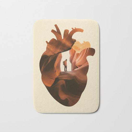Heart Explorer Bath Mat