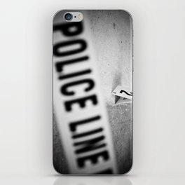 Police Line iPhone Skin