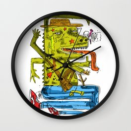 Dinowadays Wall Clock