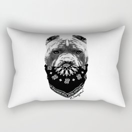 Animal Bandits - Pitbull Rectangular Pillow