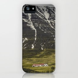 Sleepy Town of One iPhone Case
