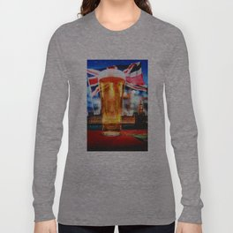 English Beer In A London Pub Long Sleeve T-shirt