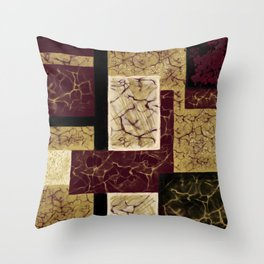 Crackle2 Throw Pillow