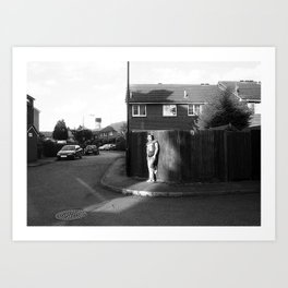 In my street Art Print