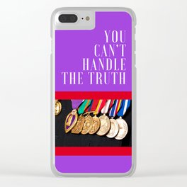 Truth be Told Clear iPhone Case