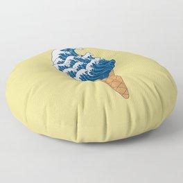 Waves Ice-Cream Floor Pillow