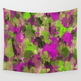 Rhapsody of colors 3. Wall Tapestry