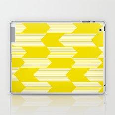 Yellow  Boho Arrows Laptop & iPad Skin