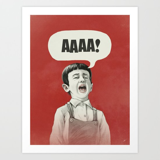 AAAA! Art Print
