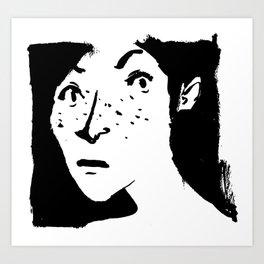 Women portrait Art Print