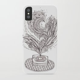the music maker iPhone Case