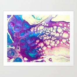 Liquid Lace Art Print