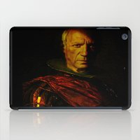picasso iPad Cases featuring King Picasso by Ganech joe