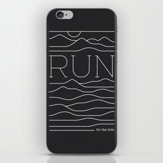 Run for the Hills iPhone Skin