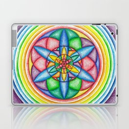 A Drop in the Rainbow Bucket - The Rainbow Tribe Collection Laptop & iPad Skin