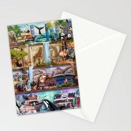 The Amazing Animal Kingdom Stationery Cards