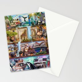 The Amazing Animal Kingdom Stationery Cards