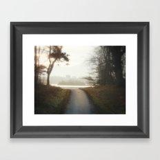 Ireland Path Framed Art Print