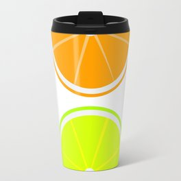 Oranges and Limes Travel Mug