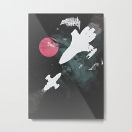 Minimal Firefly Metal Print