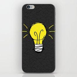 Lights Up iPhone Skin
