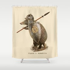 Armadillo (option) Shower Curtain