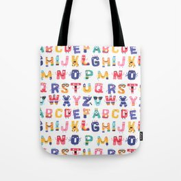 Fun with the ABC Tote Bag
