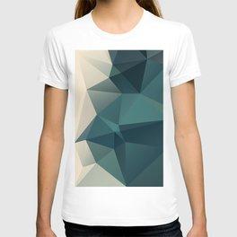 Ocean / poster, art print, pictures, art prints, deco, scandinavian, paper, pastel, marble, sea T-shirt