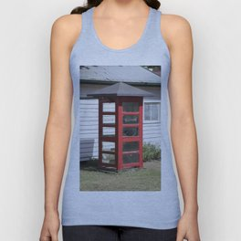 Old Telephone box Unisex Tank Top