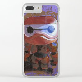 Acrylic Baymax scratch-off Clear iPhone Case