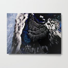 Icicle Ceiling Metal Print