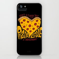 Pizza Love & Understanding Slim Case iPhone (5, 5s)