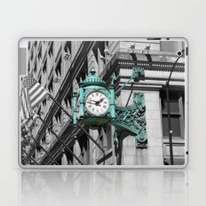 Chicago Marshall Field's Clock Photo Laptop & iPad Skin