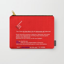 Fair and Simple GOP Carry-All Pouch