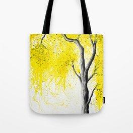Fall Tree Trios Tote Bag