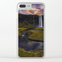 Fleeting Moments Clear iPhone Case