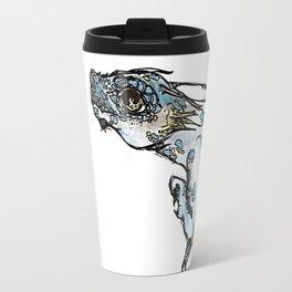 Dragon Blue Travel Mug