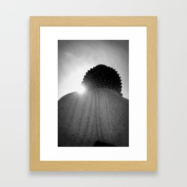 BigBuddha&light Framed Art Print