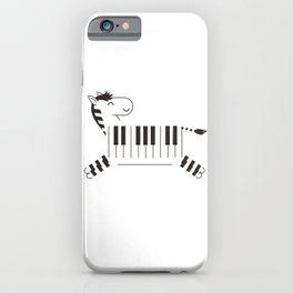 Life is like a piano iPhone Case