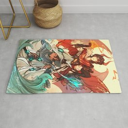 The Dragon and the Nokken Rug